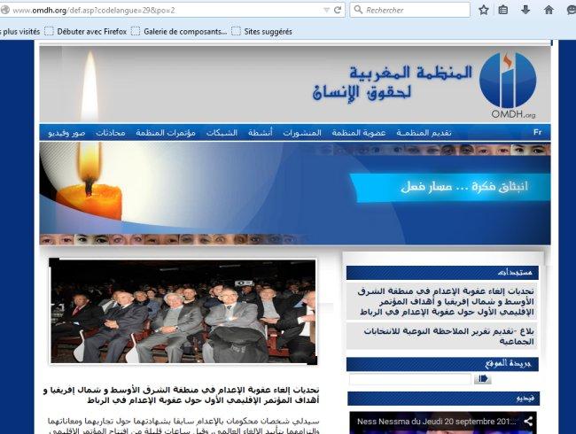 OMDH Organisation marocaine des droits de l'homme Omdh10