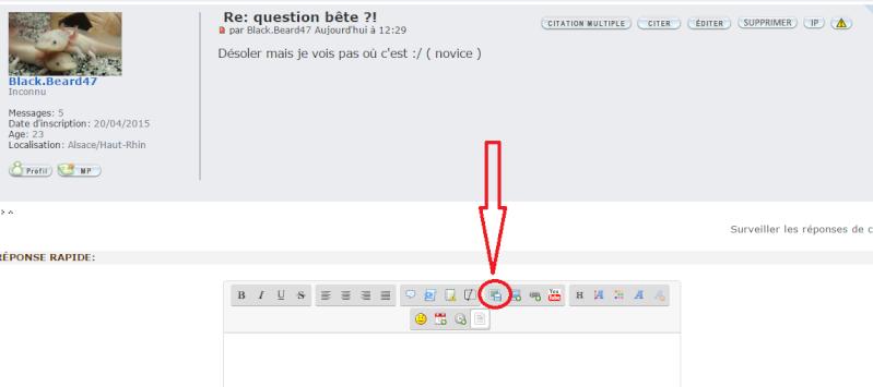 question bête ?! Forum10