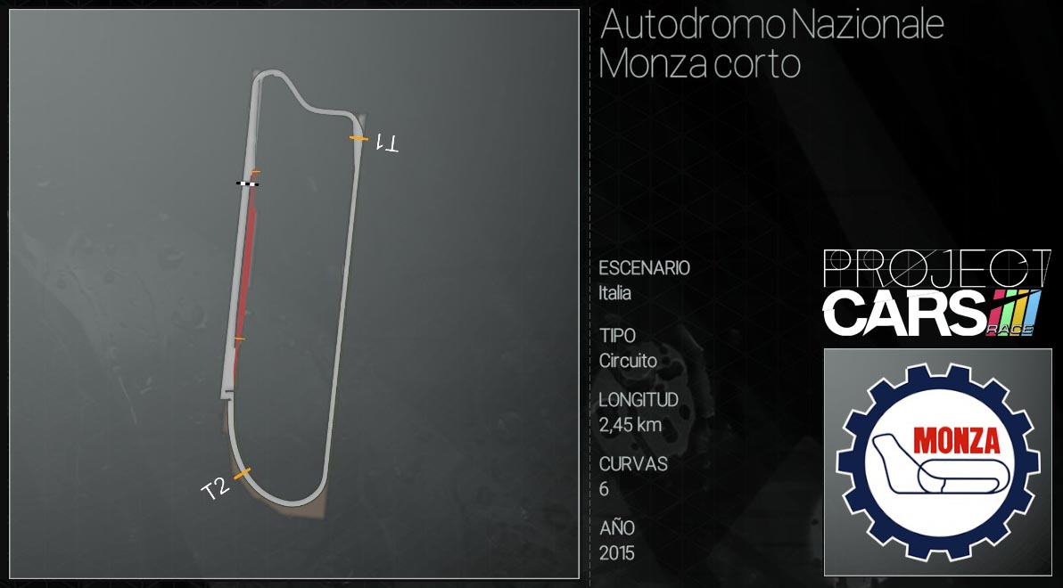 Circuitos Project CARS Autodr10