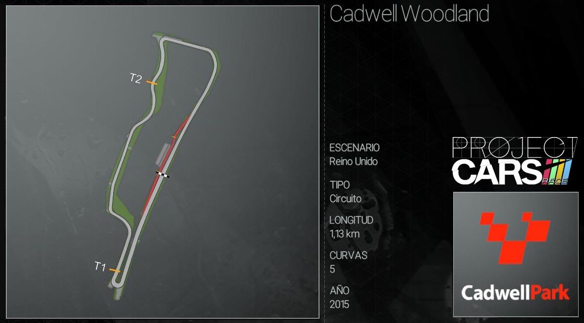 Circuitos Project CARS Cadwel10