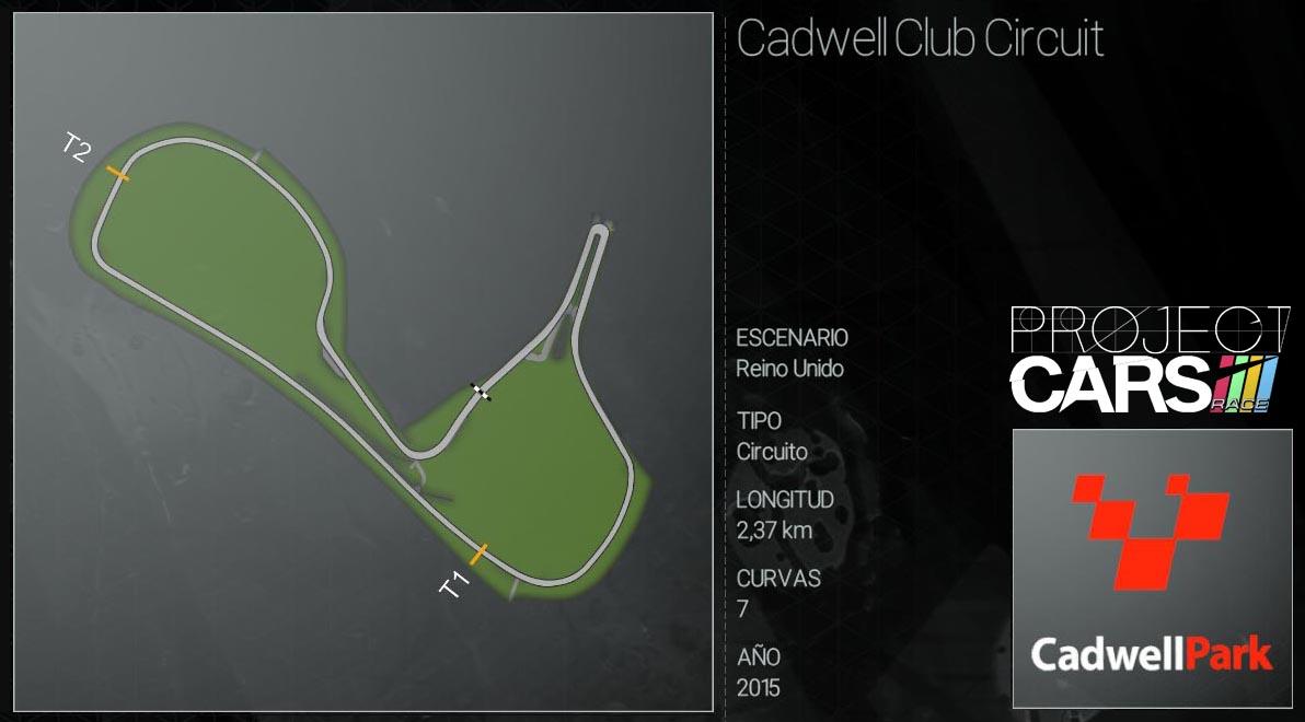 Circuitos Project CARS Cadwel11