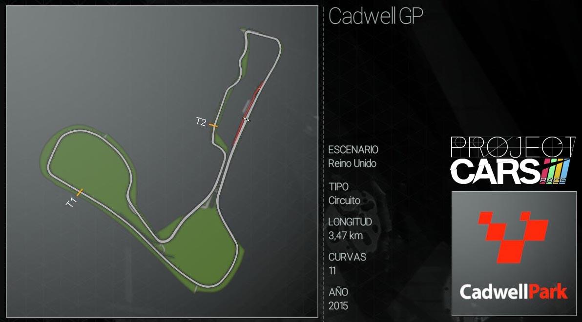 Circuitos Project CARS Cadwel12