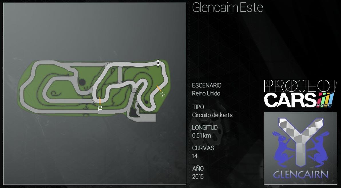Circuitos Project CARS Glenca12