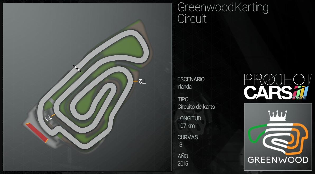 Circuitos Project CARS Greenw10