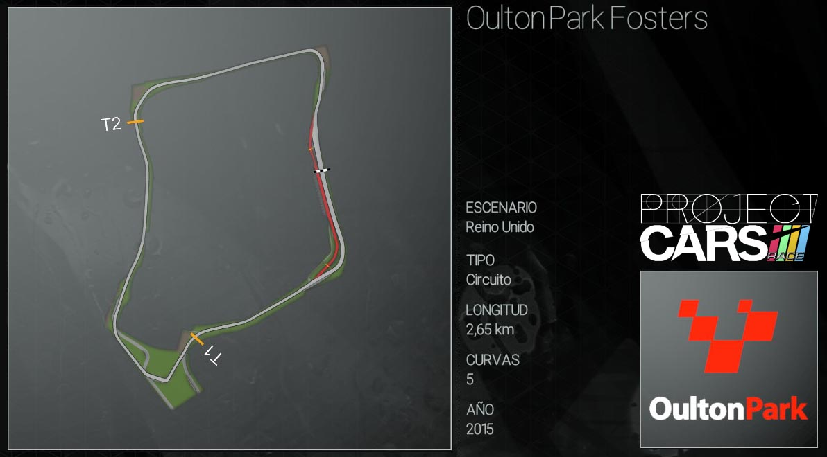 Circuitos Project CARS Oulton10