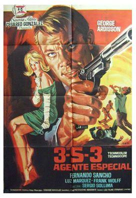 Agent 3 S 3 Massacre au Soleil - 3-S-3, agente especial (Agente 3S3 massacro al sole, 1966) Sergio Sollima 11138610