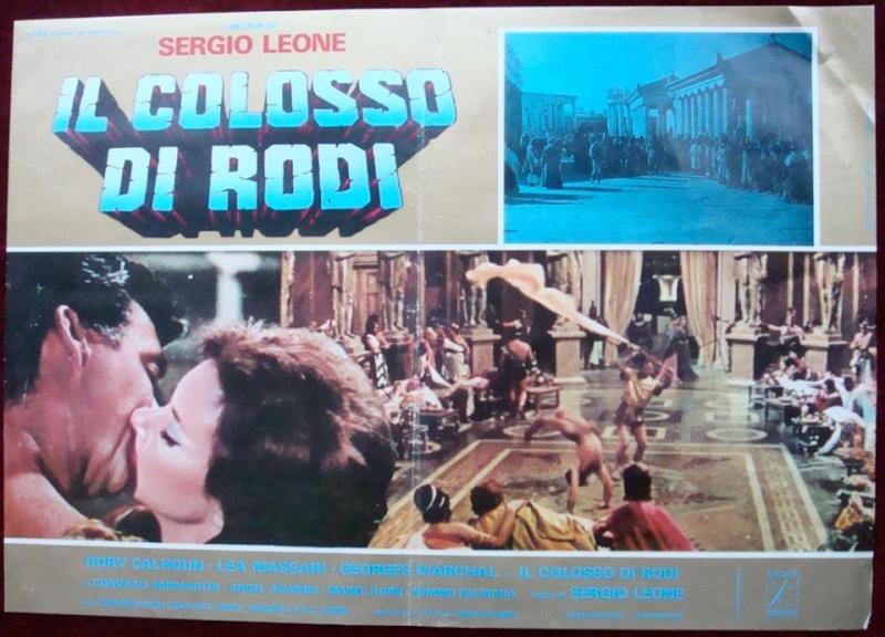 LE COLOSSE DE RHODES, SERGIO LEONE, 1960.  - Page 3 19075110