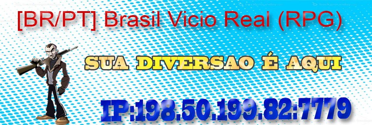 Brasil Vicio Real: O melhor RPG Banner48
