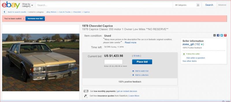 Nice original 78 Caprice w/ 350 4 barrel Ebbbbb10