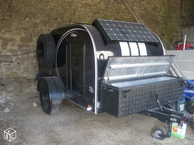Pour s'évader : Remorque TT Camping Car Ada23610