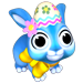 Le lapin chocolat Bluech10