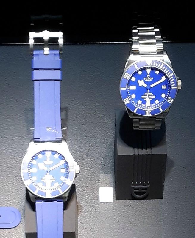 Pelagos - Tudor Pelagos bleue et mouvement manufacture 20150313