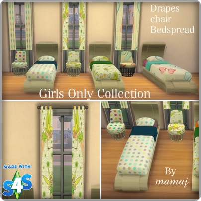 Recolors and Poses by mamaj Girls_10
