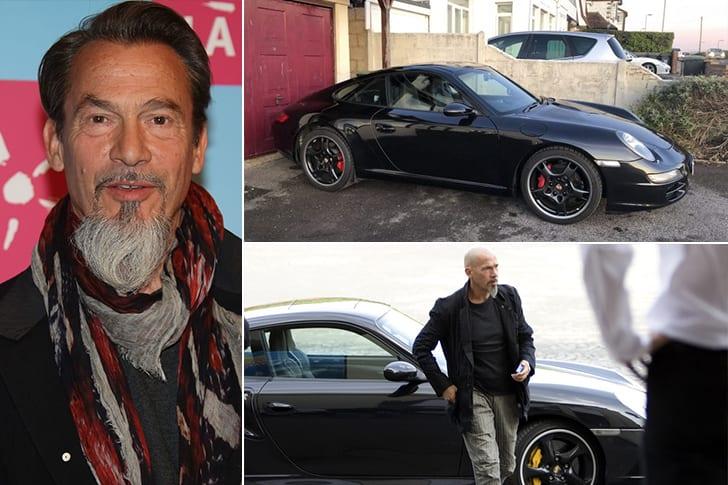 Les célébrités et leur Porsche Floren10