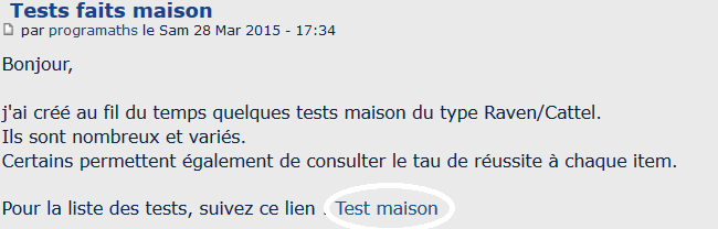 Tests faits maison 000010