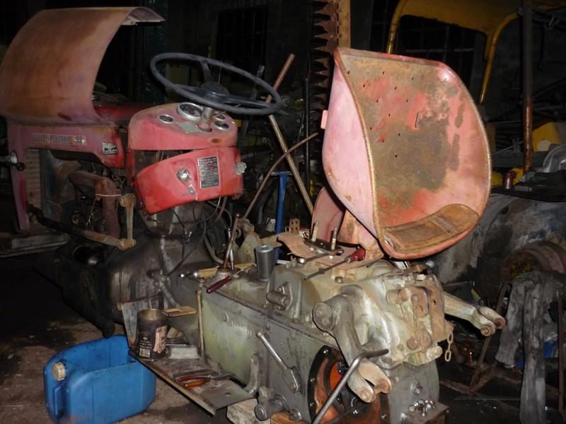 restauration - Restauration de mon Massey 825 (1961, moteur Perkins A4.107) Vue_de11
