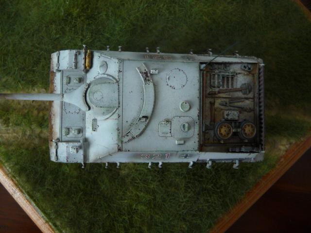Jagdpanzer IV version tardive Hasegawa 1/72 P1170717