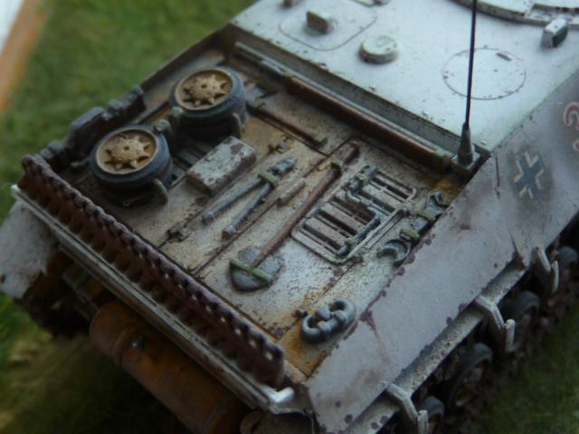 Jagdpanzer IV version tardive Hasegawa 1/72 P1170718