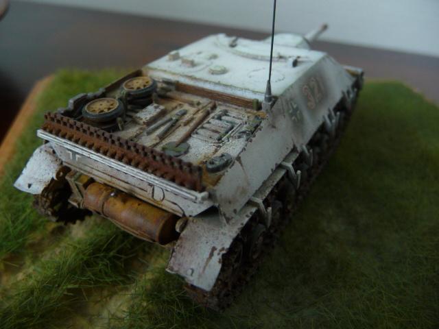 Jagdpanzer IV version tardive Hasegawa 1/72 P1170719