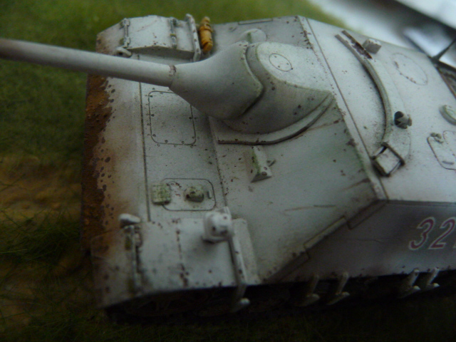 Jagdpanzer IV version tardive Hasegawa 1/72 P1170720
