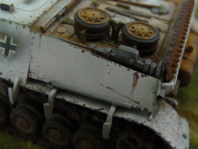 Jagdpanzer IV version tardive Hasegawa 1/72 P1170721