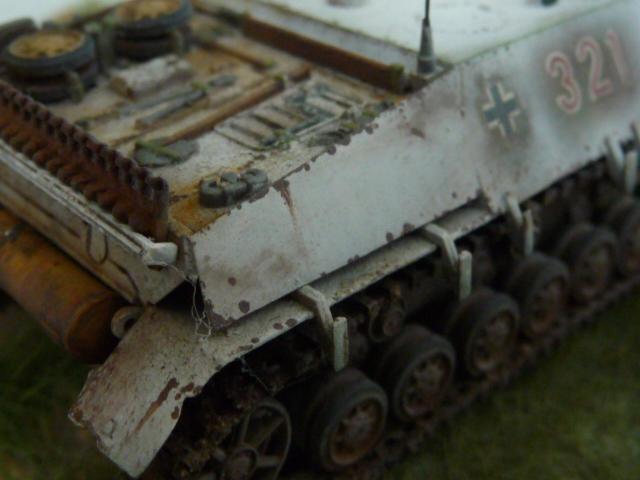 Jagdpanzer IV version tardive Hasegawa 1/72 P1170723