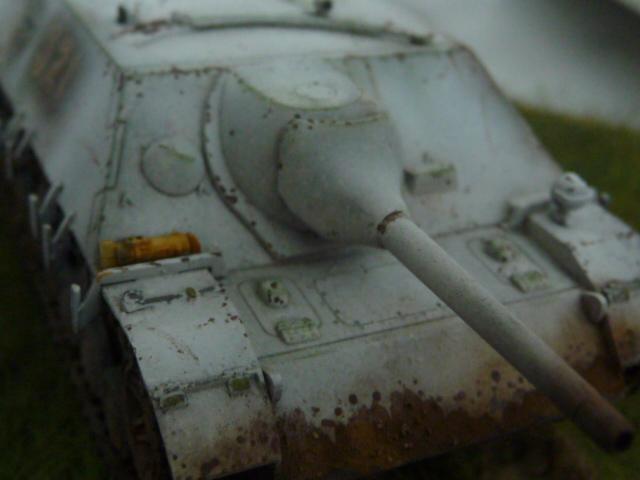 Jagdpanzer IV version tardive Hasegawa 1/72 P1170724