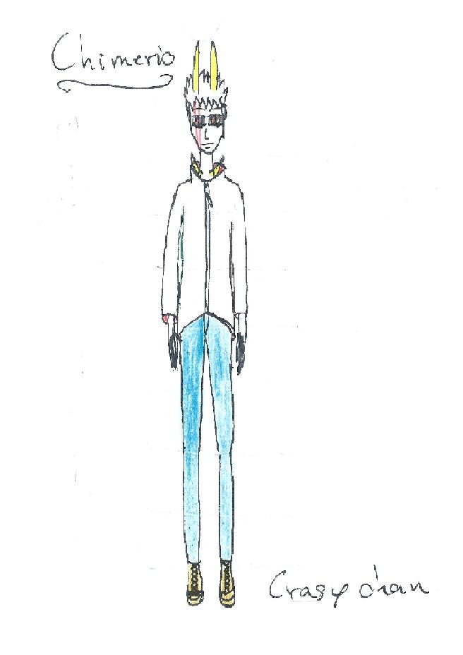 [Dessin] Quelques dessins...  Chimer10