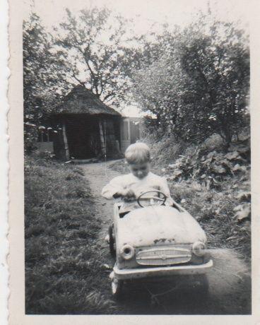 voitures à pédales Christ11