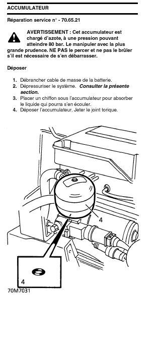 Sifflement accumulateur de pompe de frein Accumu10
