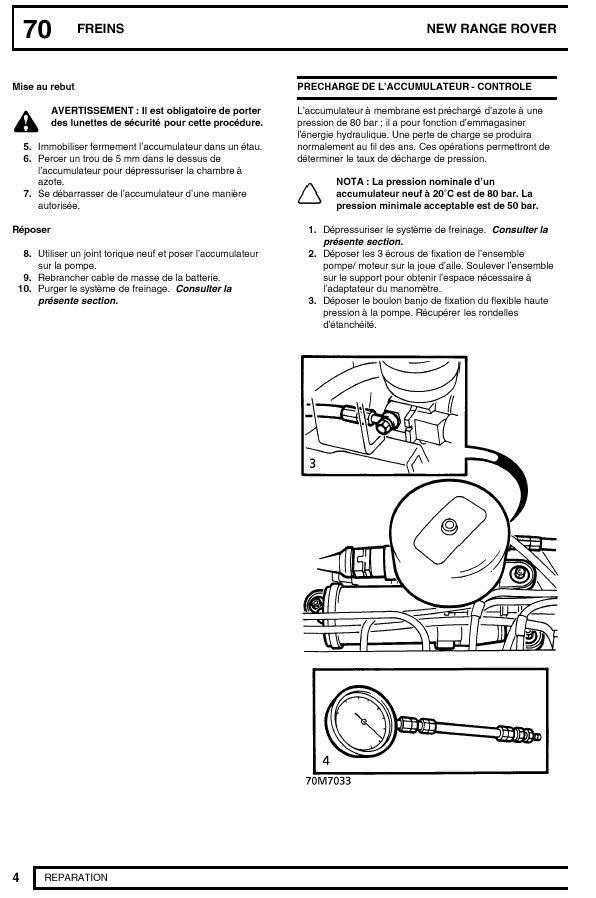 Sifflement accumulateur de pompe de frein Accumu11