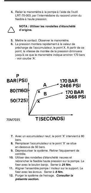 Sifflement accumulateur de pompe de frein Accumu12