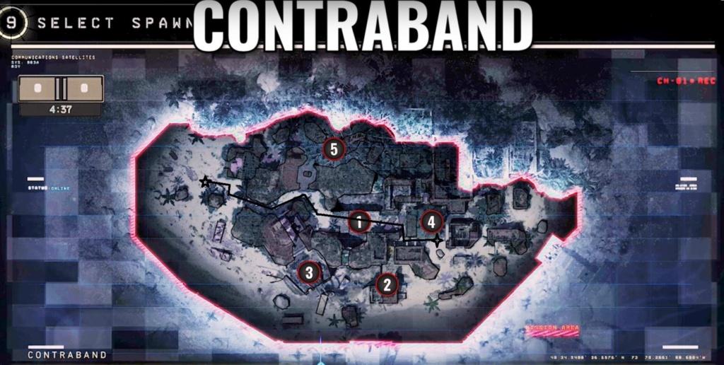 hardpoint et dernier rempart, les maps Contra12