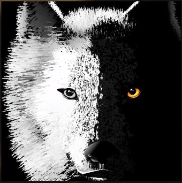 embleme de loup sympas Emblem10