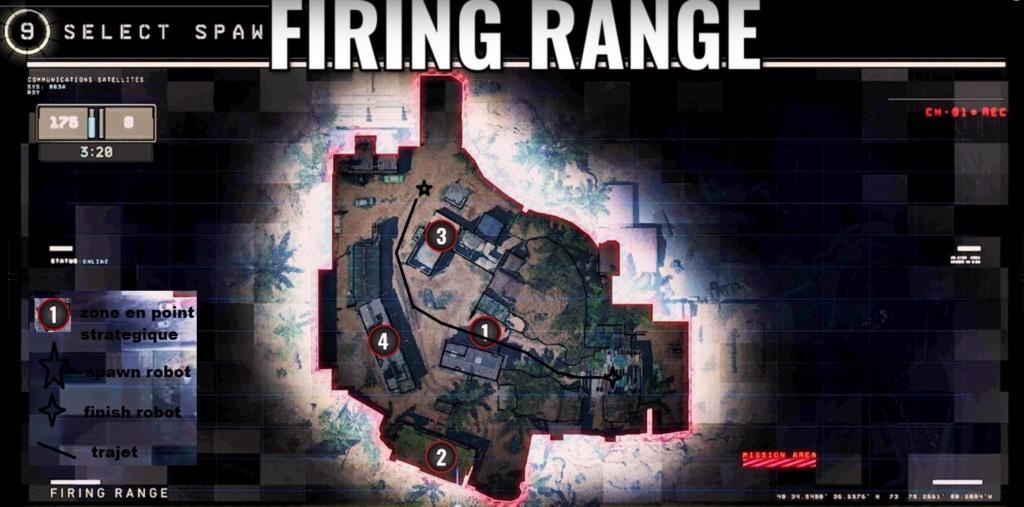 hardpoint et dernier rempart, les maps Firing10