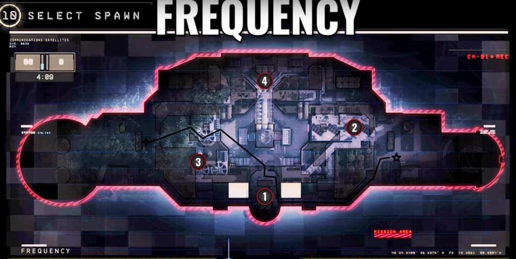 hardpoint et dernier rempart, les maps Freque11