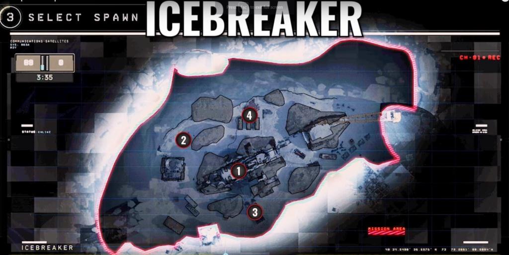 hardpoint et dernier rempart, les maps Ice-br10