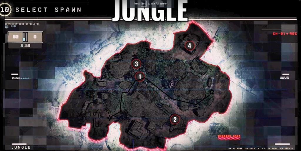 hardpoint et dernier rempart, les maps Jungle11