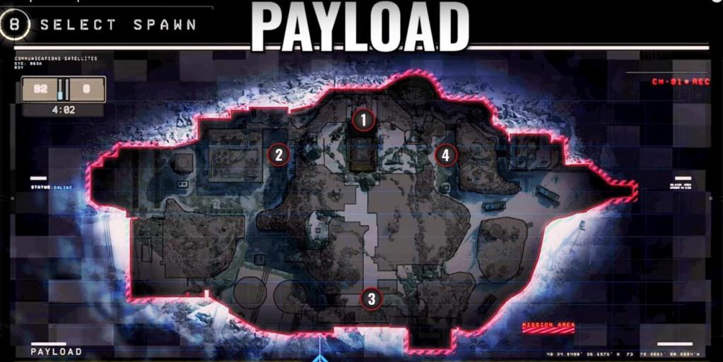 hardpoint et dernier rempart, les maps Payloa10
