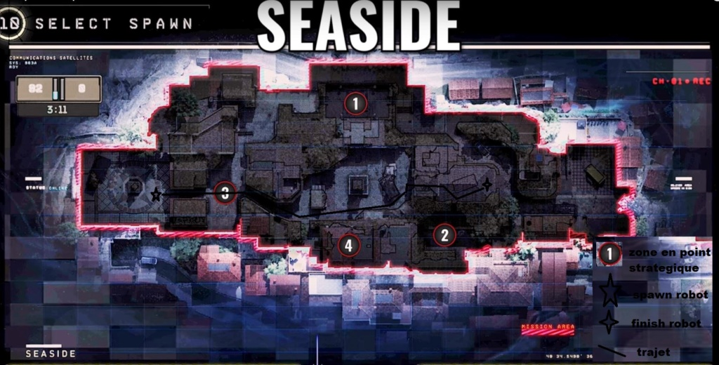 hardpoint et dernier rempart, les maps Seasid10