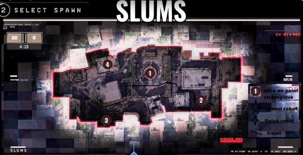 hardpoint et dernier rempart, les maps Slums-10