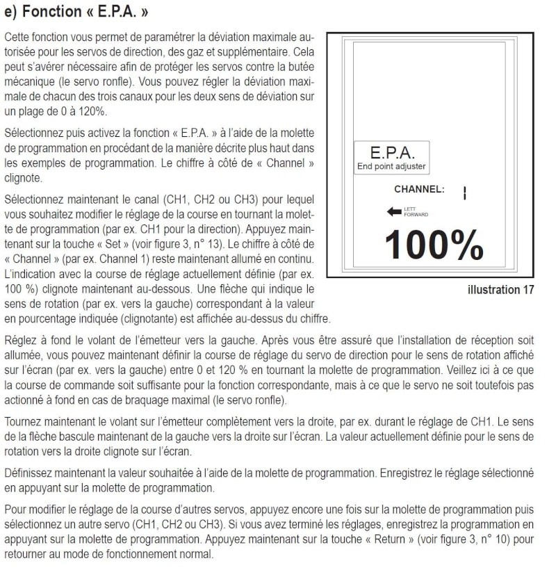 nouvelle radio pour MR03 Sport - la KT - 432P Epa10