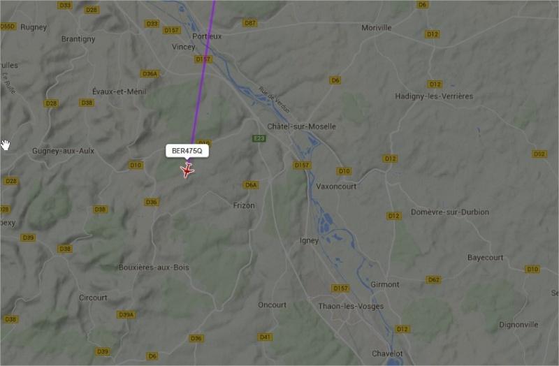 2015: le 26/04 à 03h20 - Un phénomène ovni troublant -  Ovnis à Châtel sur Moselle  - Vosges (dép.88) Avion_12