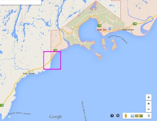 CÔTE-NORD: comté Sept-Rivières 7ile10