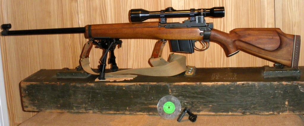 Carabine de TLD peu connue; Parker Hale Target 1200TX (Version civile de la C3 militaire) Imgp5018