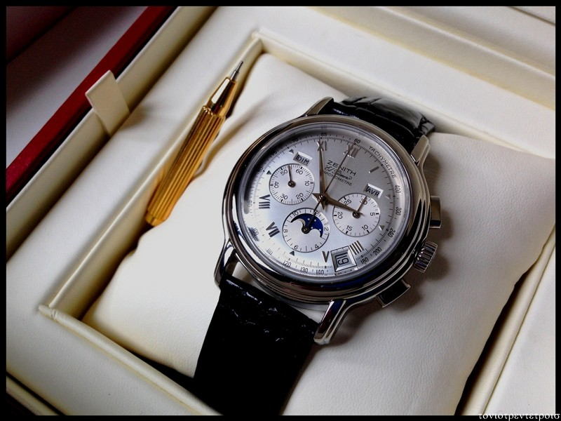 [vends] zenith chronomaster calendrier complet ----  3400 euro ----- 033_gf10