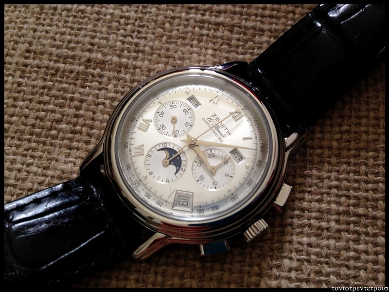 [vends] zenith chronomaster calendrier complet ----  3400 euro ----- 060_2_10