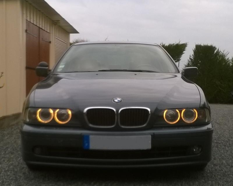 ma nouvelle voiture bmw 525D Rognye12