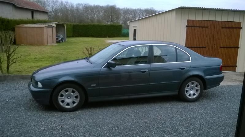 ma nouvelle voiture bmw 525D Wp_20110
