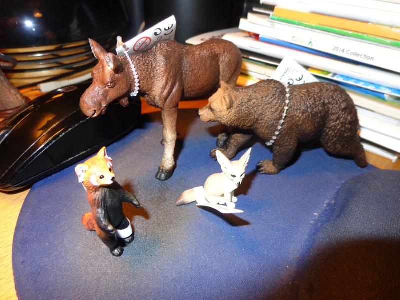 The Eikoh Miniaturplanet animals in my zoo Dsc01412